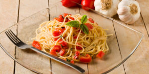 vegan-meat-seafood-flavors-Spaghetti with Garlic and Oil 1